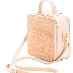 NWT Divina Firenze Italian Leather Box Bag